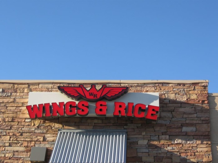 9. Wings & Rice, Tucson