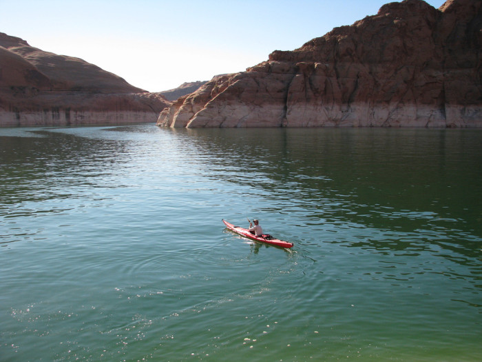 13. What about at Lake Powell?