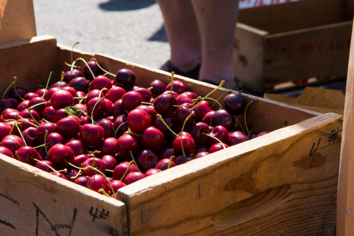 1. Good luck finding cherries this delicious anywhere else.
