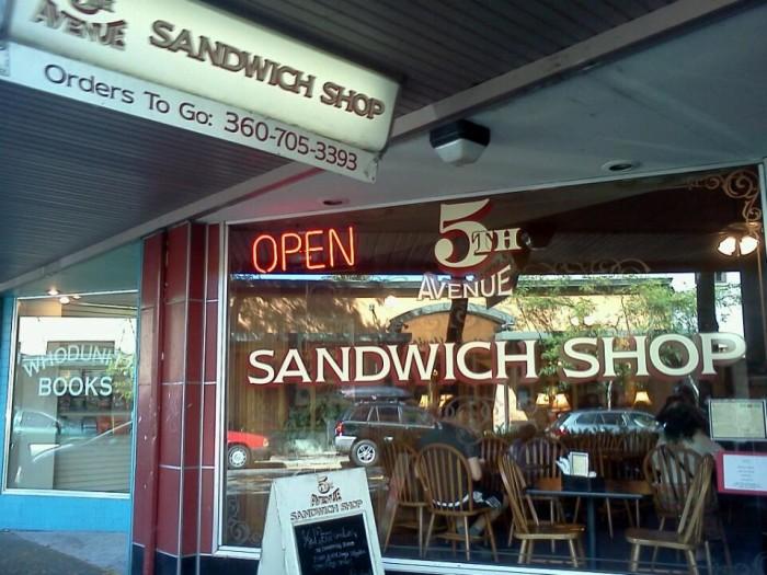 9. Fifth Avenue Sandwich Shop, Olympia