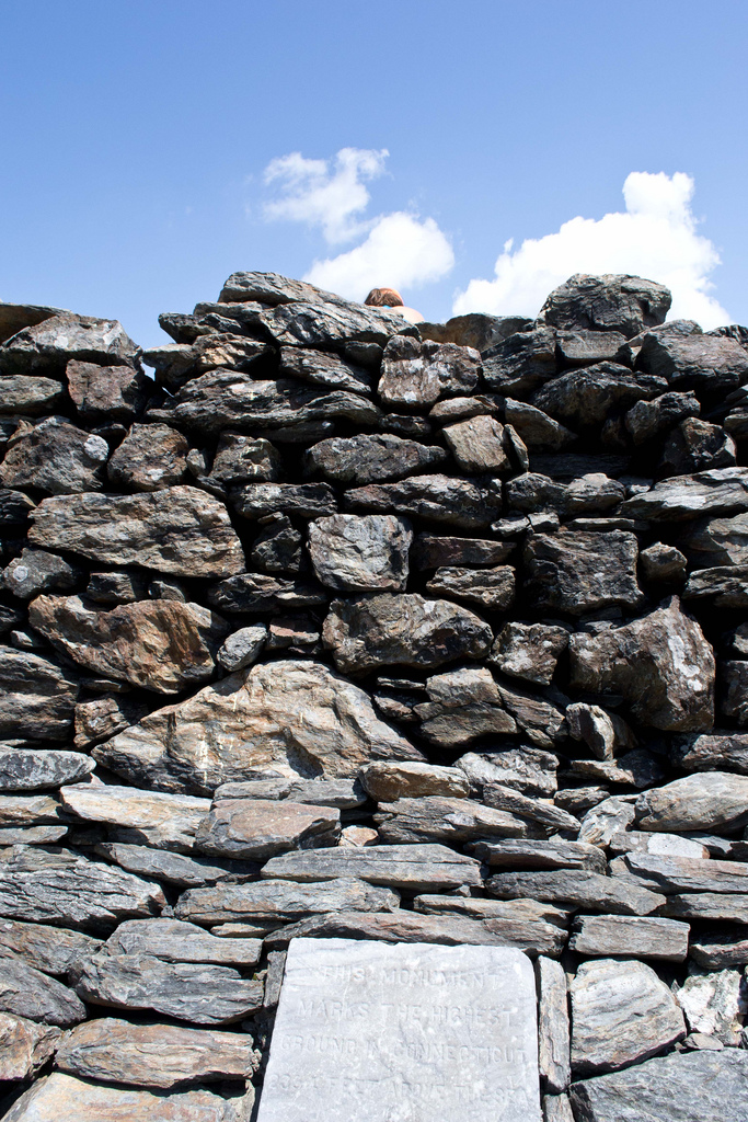 7. See the cairn.