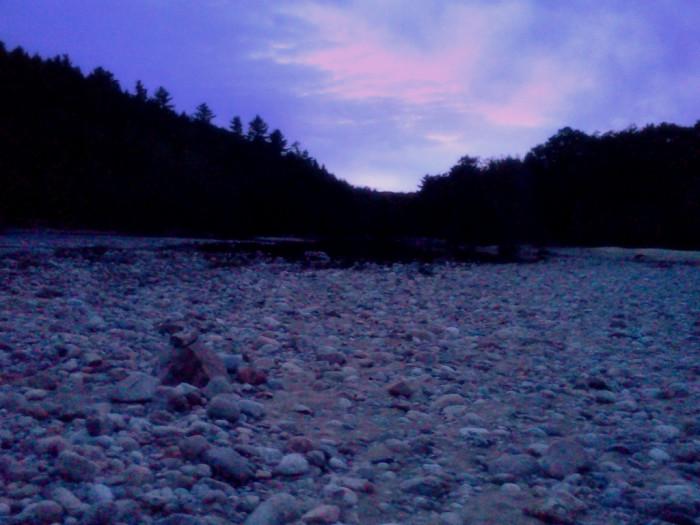 14. Purple twilight in Glen.