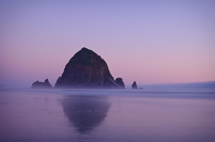 Haystack Rock.