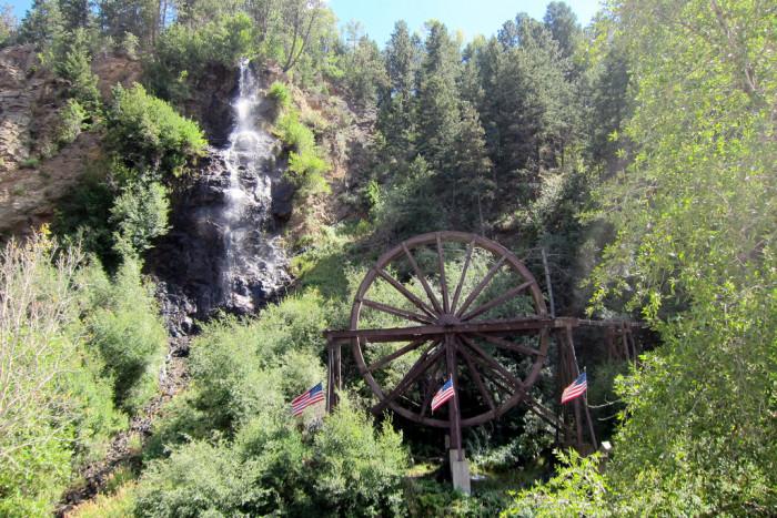 4. Bridal Veil Falls (Idaho Springs)
