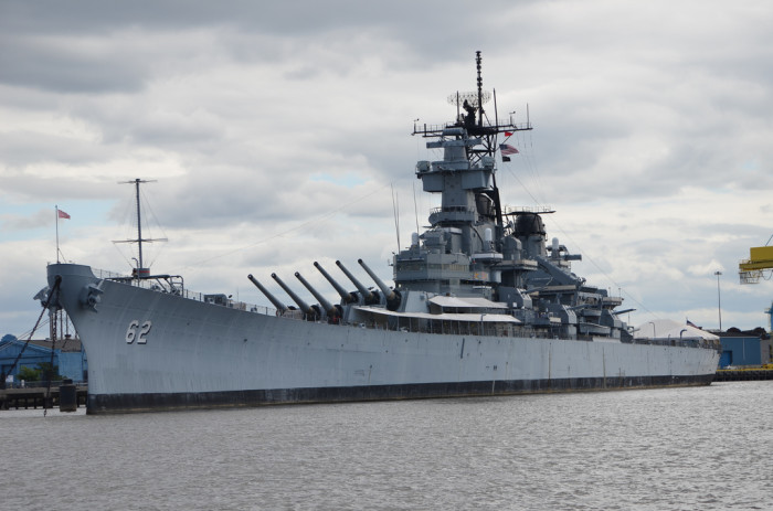 11. USS New Jersey, Camden Waterfront