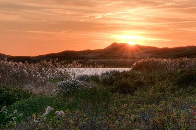 3. Few things compare to this amazing image of Great Salt Pond found on Block Island.