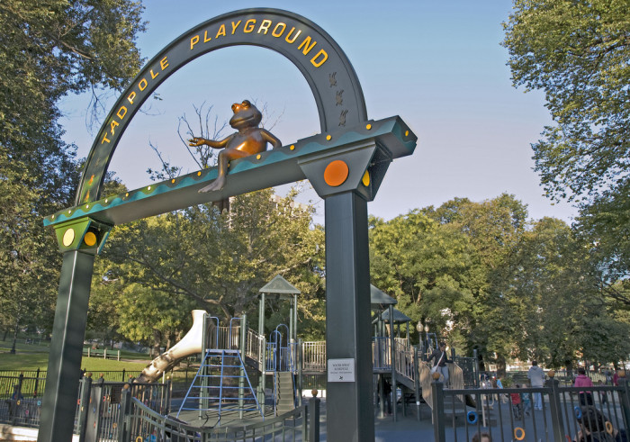 4. Tadpole Playground, Boston Common
