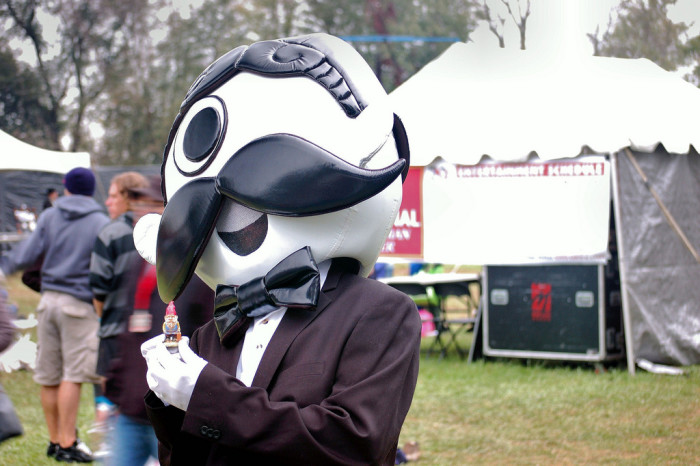 8. Mr. Boh, who is always ready for a black tie event.