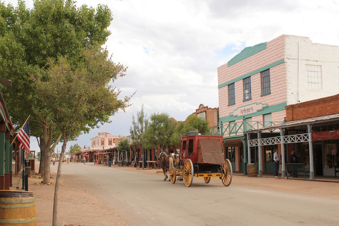 25. Head on over to Tombstone for a look at the Old West.