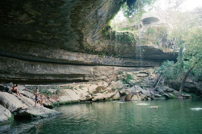 2. This mystical hill country grotto.
