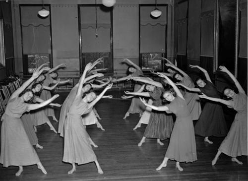 17. St. Mary's Academy Dance Class, 1939.