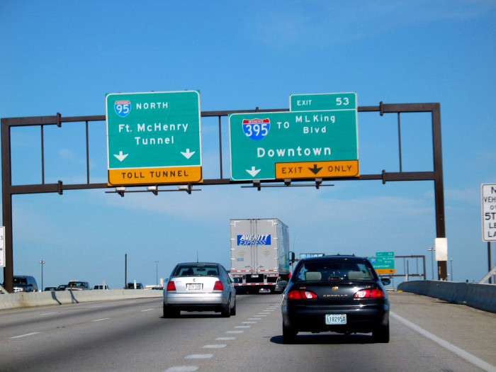 3. Driving in Maryland