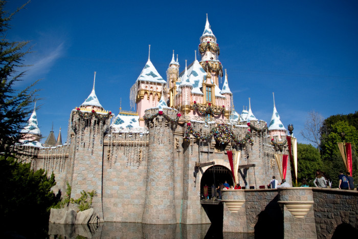 4.  Sleeping Beauty Castle