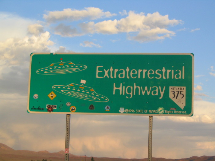 7. Many Nevadans struggle with the possibility of being abducted by aliens, even though this is highly unlikely.