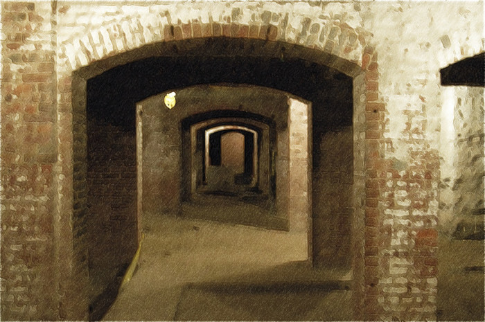 2. Catacombs under the City Market – Indianapolis