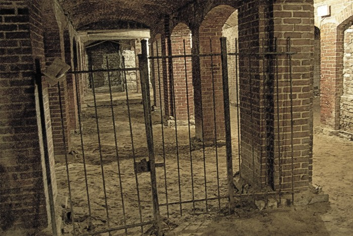 11. Tomlinson Hall Catacombs