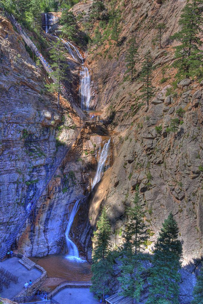 6. Seven Falls (Colorado Springs)