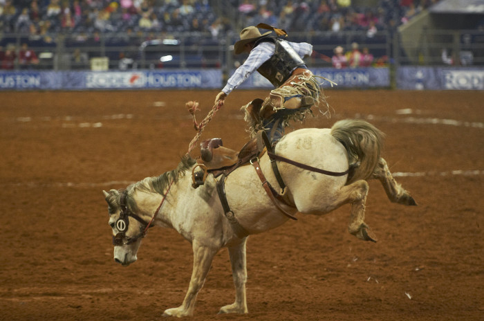 7. The biggest ropin' and ridin' spectacle in the entire world.