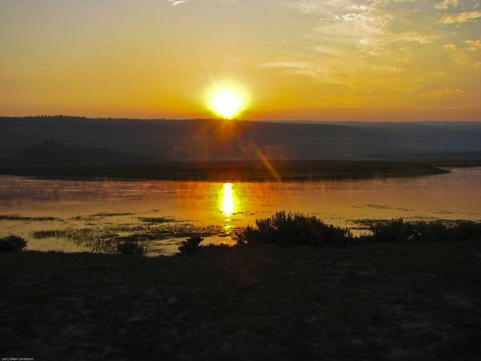 17 Beautiful Sunrises In Wyoming