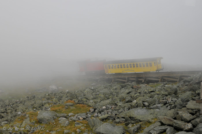 5. The Cog Railway is about to disappear.