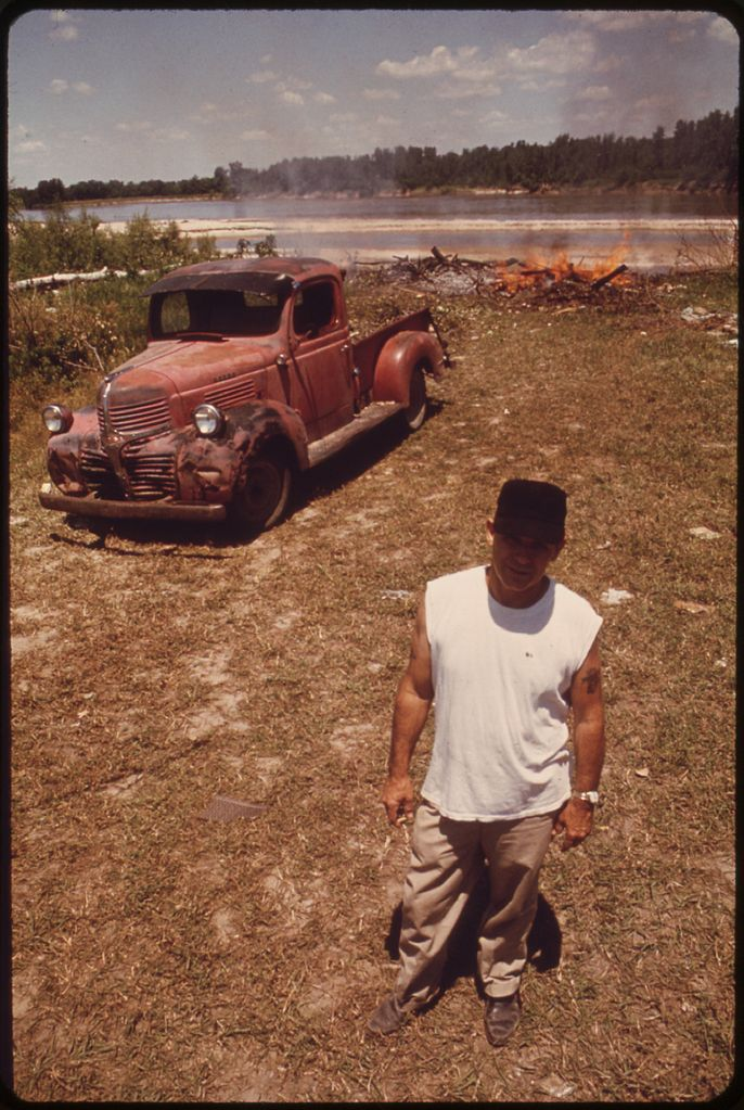 "9. ""Lawrence resident filled his pickup truck with debris, dumped it at the rivers edge and there set a match to it."" (1973)"
