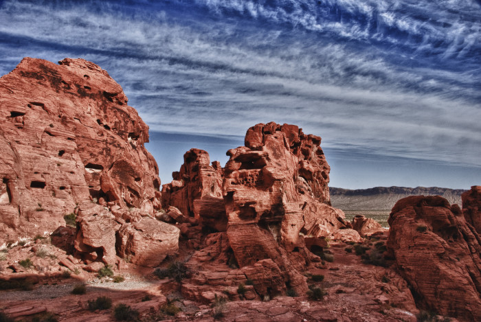 4. Nevada is home to the most beautiful state parks in the U.S.