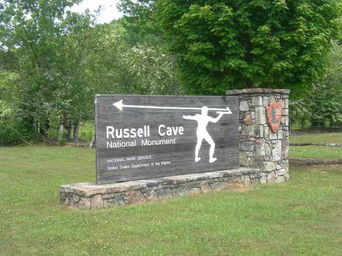 5. Russell Cave National Monument - Bridgeport, AL
