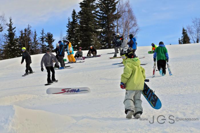 7. Hill Top Ski Area in Anchorage
