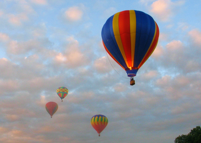 7. Plainville's Hot Air Balloon festival