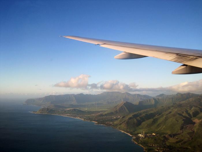 7) Only ten minutes until landing now. Ah, yeah!
