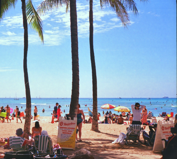 7) Approximately 6 million tourists visit Hawaii every year, and spend a combined 11 billion dollars.