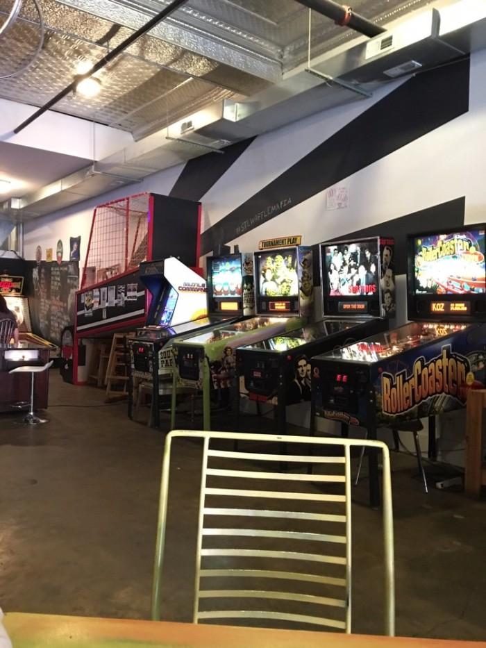7. Games inside, Melt, St. Louis