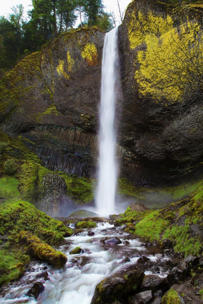 2. Latourell Falls