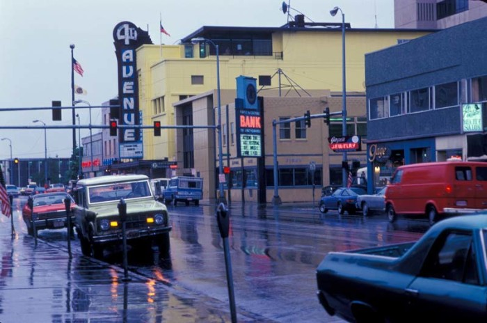 6. 4th Avenue never looked so hip. I love all the old cars captured in this shot.