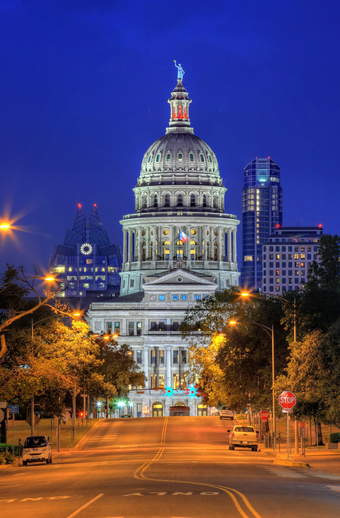 5. Our gorgeous state capitol.