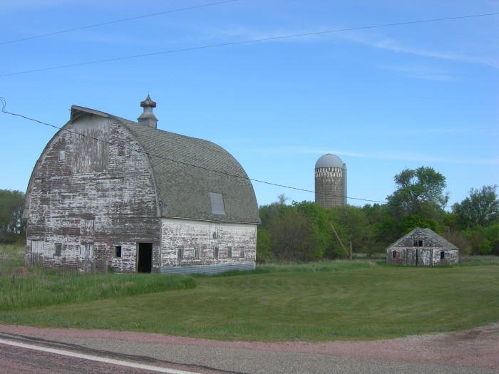 Old Barns In South Dakota