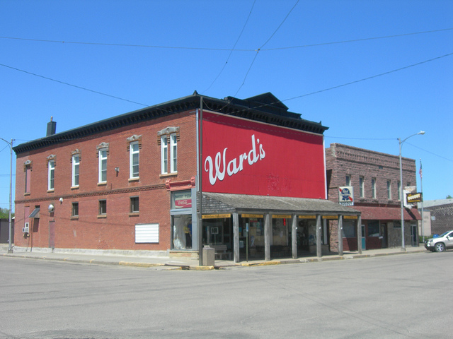 Ward's Store & Bakery in De Smet, South Dakota.