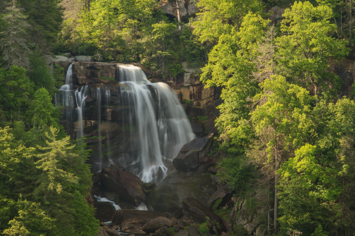 8. Upper Whitewater Falls