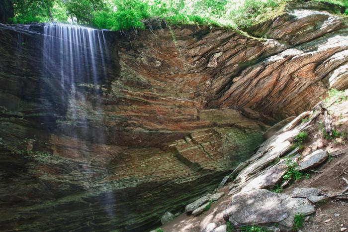 4. Moore Cove Falls