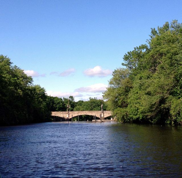 The Blackstone River attractions: