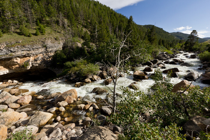 8. Sinks Canyon State Park
