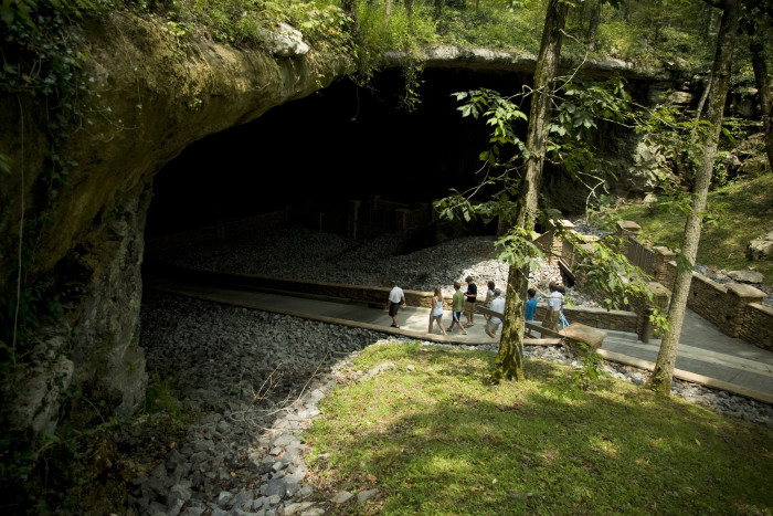 3. Cathedral Caverns - Woodville, AL