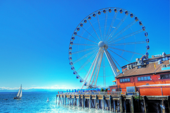 6. Have you seen this great wheel in Washington before?