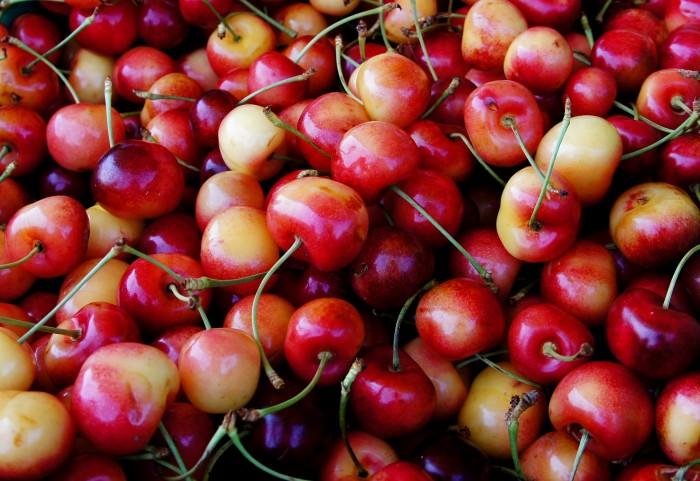 2. Rainier Cherries