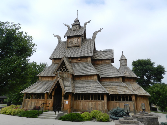 1. Gol Stave Church at Scandinavian Heritage Park