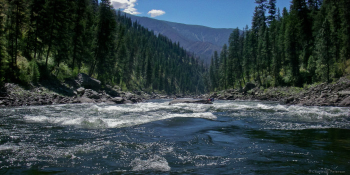 1. The wild, rushing, roaring, meandering, and scenic rivers.