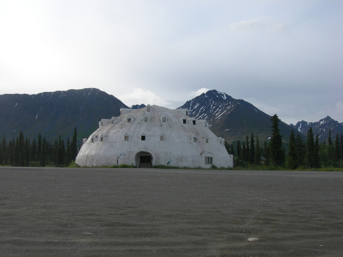 4. Igloo City in Cantwell