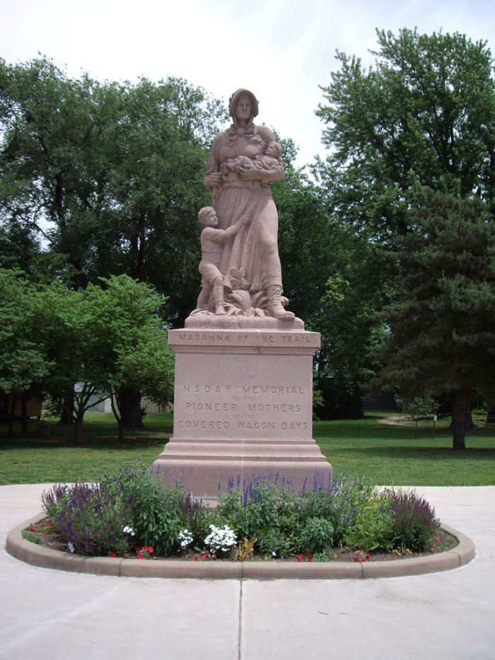9. Madonna of the Trail (Council Grove)