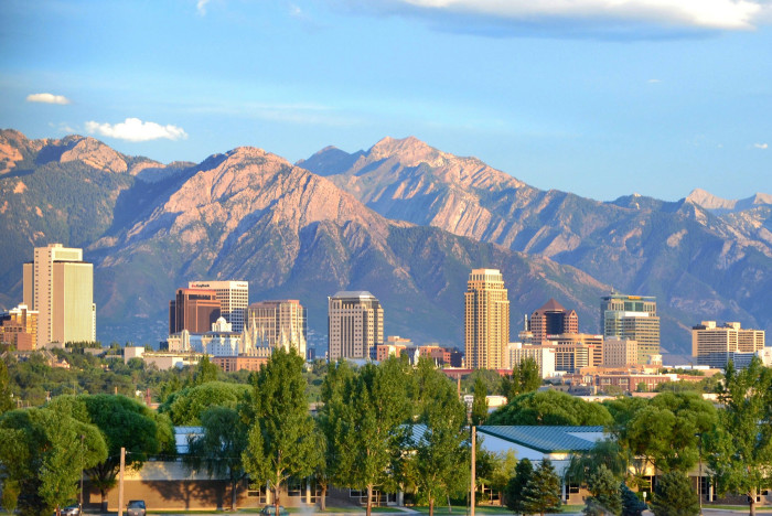 1. Wasatch Mountains