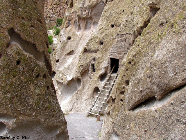 7. Our numerous cultural attractions, such as Bandelier National Monument, have amazing backdrops.